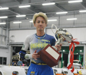 海の王者決定戦で優勝した井口佳典選手