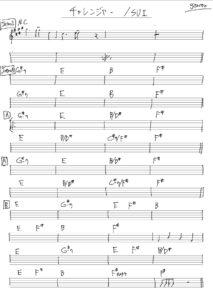 ボートレース甲子園テーマソングの楽譜